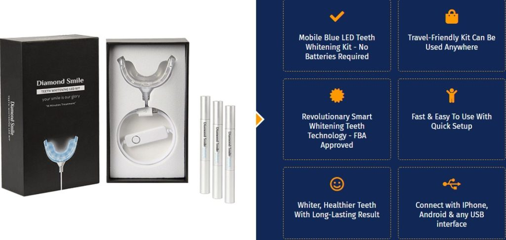 Diamond Smile kit. the best. gadgetniche.com