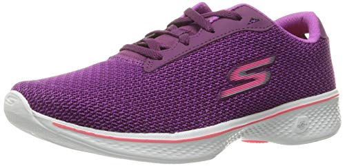 If you are familiar with running shoes, then you would have come across a couple of products from Skechers. The Performance Go Walk 4 Lace-Up is another one of their top-quality products.