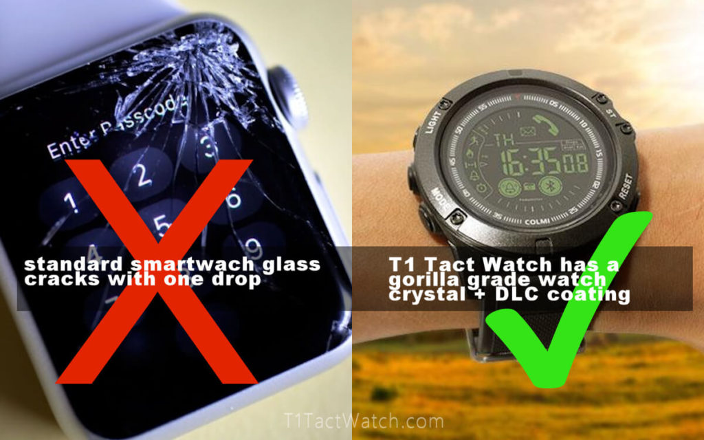 Tact watch battery life