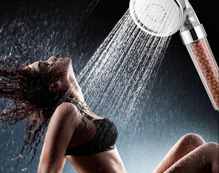 Ionic filter spa shower head review