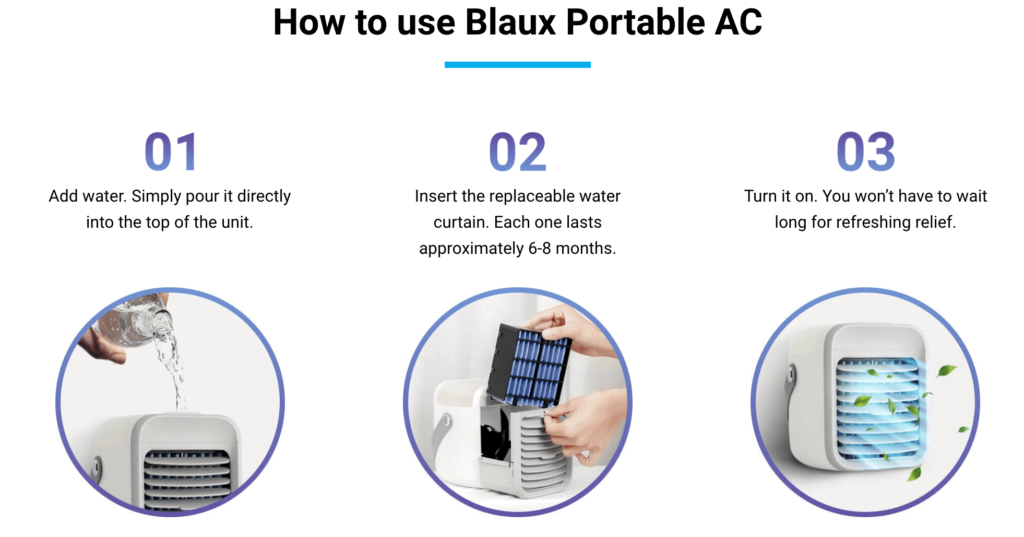 Blaux Portable AC Review 2021 - Does it Really Work ...